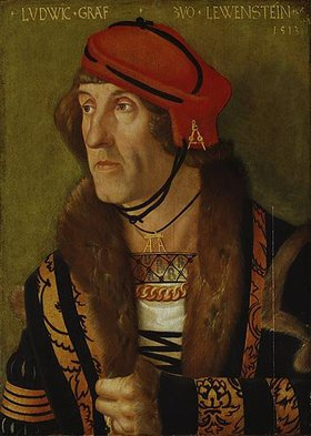 Hans Baldung (Grien): Graf zu Löwenstein, Bildnis