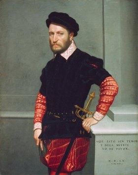 Giovanni Battista Moroni: Don Gabriel de la Cueva, Herzog von Albuquerque