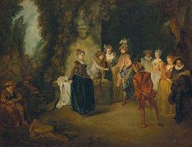 Jean Antoine Watteau: Die französische Komödie. Nach