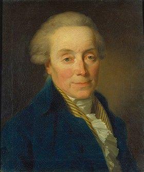Friedrich August Tischbein: Bildnis des Architekten Friedrich Wilhelm von Erdmannsdorff (1736-1800)