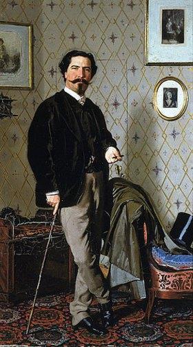 Giovanni Boldini: Bildnis des Malers Cristiano Banti in seinem eleganten Wohnra