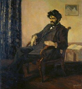 Albert Weisgerber: Der Dichter Ludwig Scharf