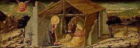 Neri di Bicci: Die Geburt Christi