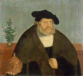 Lucas Cranach d.Ä.: Kurfürst Friedrich III. (der Weise)