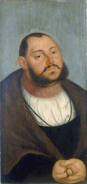 Lucas Cranach d.Ä.: Kurfürst Johann Friedrich der Grossmütige