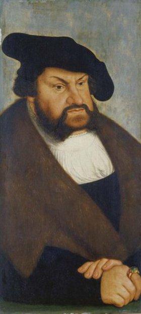 Lucas Cranach d.Ä.: Kurfürst Johann der Beständige