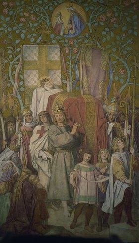 Moritz von Schwind: Die Grablegung der Hl. Elisabeth