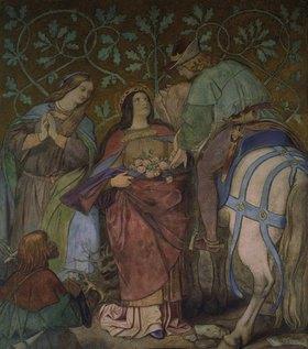 Moritz von Schwind: Das Rosenwunder der hl. Elisabeth