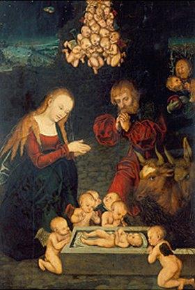 Lucas Cranach d.Ä.: Die heilige Nacht