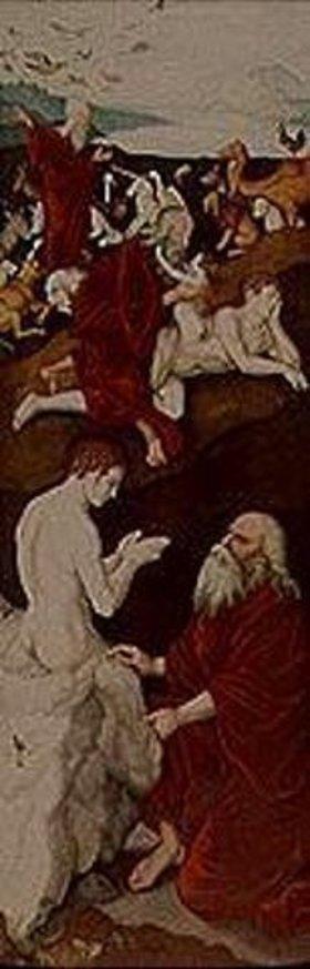 Hans Baldung (Grien): Flügel einer astronomischen Uhr mit biblischen Szenen