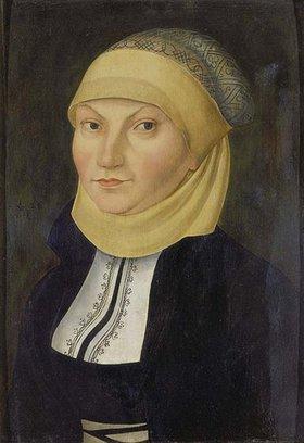 Lucas Cranach d.Ä.: Bildnis der Katharina von Bora, Gemahlin Martin Luthers
