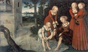Lucas Cranach d.Ä.: David und Bathseba