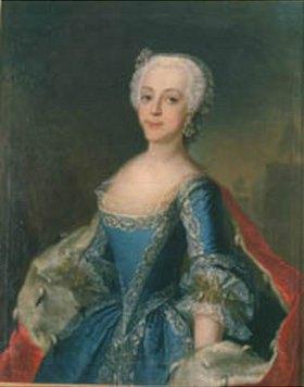 Anna Rosina Lisiewska: Katharina II. als Prinzessin
