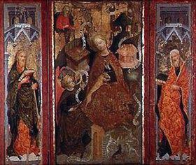 unbekannter deutscher Meister: Einhorn-Triptychon