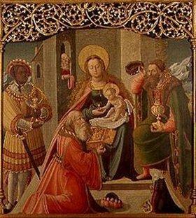 Schwäbisch: Die Anbetung der Könige