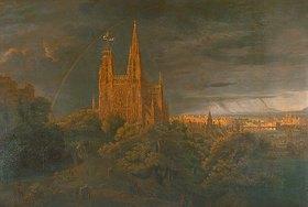 Karl Friedrich Schinkel: Kathedrale (Stadt am Fluss)
