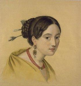 Louise Caroline Seidler: Portrait einer Dame mit Haarschmuck
