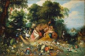 Jan Brueghel d.J.: Die vier Elemente. (Ausgeführt zusammen mit Jan van Kessel)
