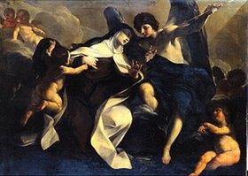Felice Torelli: Stigmatisation der hl. Teresa von Avila