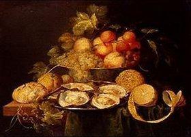Jan Davidsz de Heem: Stilleben mit Früchten und Austern