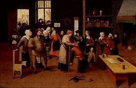 Maerten van Cleve: Das Steinschneiden