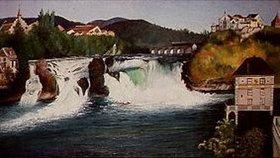 Tivadar Csontváry-Kosztka: Der Rheinfall von Schaffhausen