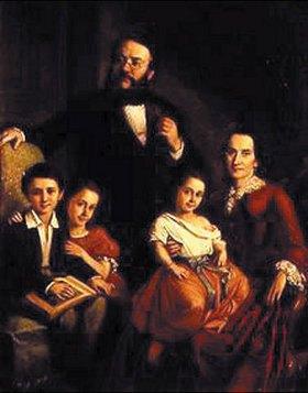 Mór Than: Bildnis einer vornehmen Familie