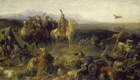 Mór Than: Landnahme. Die Magyaren erreichen um das Jahr 900 ihr heutiges Siedlungsgebiet