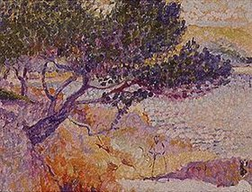 Henri Edmond Cross: La bay de Cavaliere