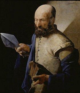 Georges de La Tour: Der heilige Thomas