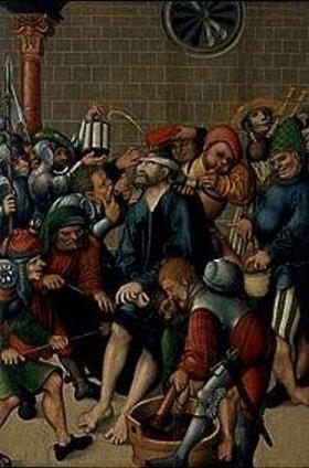 Lucas Cranach d.Ä.: Die Verspottung Christi