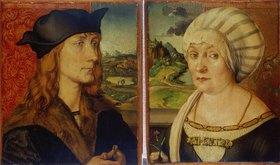 Albrecht Dürer: Doppelbildnis des Hans Tucher und seiner Ehefrau Felicitas