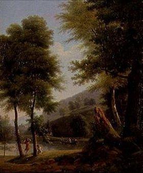 Jean Victor Bertin: Idyllische Landschaft