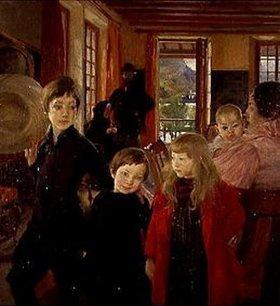 Albert Besnard: Die Familie des Künstlers