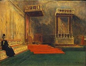 Léon Bonnat: In der Sixtinischen Kapelle