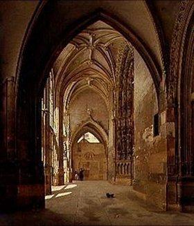 Etienne Bouhot: Portalvorbau der Kirche St.Germain in L'Auxerrois