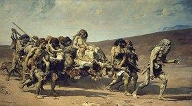 Fernand Cormon: Kain, nach Victor Hugo 'Légende des siecles' 21 (La Conscience)