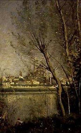 Jean-Baptiste Camille Corot: Die Kathedrale von Mantes