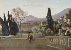 Jean-Baptiste Camille Corot: Tivoli, die Gärten der Villa d'Este