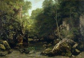 Gustave Courbet: Der Waldbach (Le ruisseau couvert)