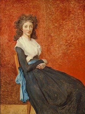 Jacques Louis David: Madame Charles-Louis Trudaine