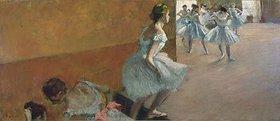 Edgar Degas: Tänzerinnen auf einer Treppe. Gegen