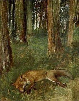 Edgar Degas: Toter Fuchs