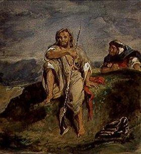 Eugene Delacroix: Arabischer Jäger