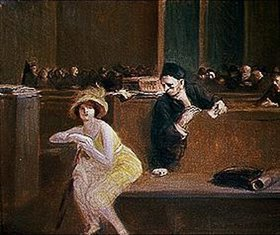Jean Louis Forain: Szene im Gerichtssaal
