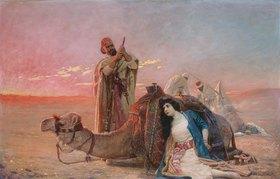 Otto Pilny: Die Gefangene in der Wüste