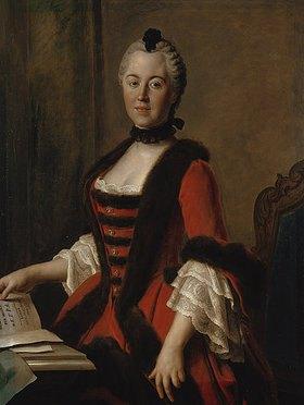 Pietro Antonio Rotari: Maria Antonia Walpurgis, Kurprinzessin von Sachsen, Tochter Karls VII
