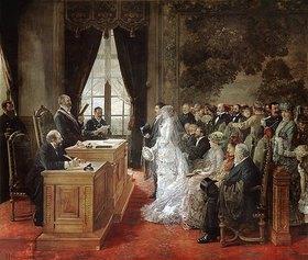 Henri Gervex: Die Hochzeit von Mathurin Moreau im Rathaus von Paris