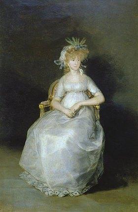 Francisco José de Goya: Bildnis der Comtesse Chinchon