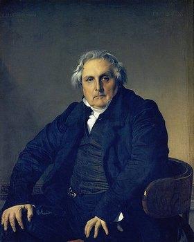 Jean Auguste Dominique Ingres: Bildnis Louis-François Bertin